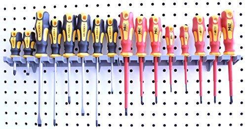 Screwdriver Organizer   MLTOOLS 8 Tool V-Slot Screwdriver Organizer   Made in USA   VS8226 x 2