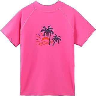 Girls & Boys Long Sleeve Rashgurad Swimsuit UPF 50+ Kids Swimwear Sunsuits