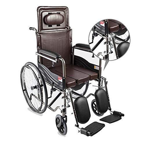 ZCPDP rolstoel met eigen aandrijving lichte, opvouwbare, draagbare transportrolstoelen met eigen aandrijving halfverzonken eettafel geschikt voor oudere mensen met mindervaliden