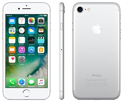Apple iPhone 7 256GB - Silber - Entriegelte (Generalüberholt)