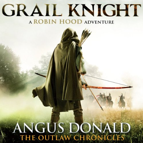 Grail Knight audiobook cover art