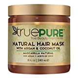 Best Hair Mask For Dry Hairs - TruePure Natural Hair Mask With Argan Oil, Coconut Review