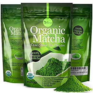 Gives you energy - There is caffeine in Matcha, but it releases into the bloodstream slowly. Matcha's caffeine has an alkalizing effect, resulting in a much gentler influence on the stomach, which gradually aids with digestion, healing, cleansing. Su...