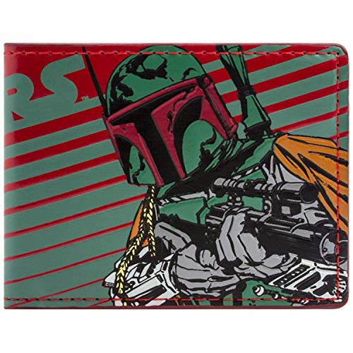 Star Wars Boba Fett Bounty Hunter Mehrfarbig Portemonnaie Geldbörse