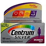 Centrum Silver Women 50+ Tablets - 100 ct, Pack of 2