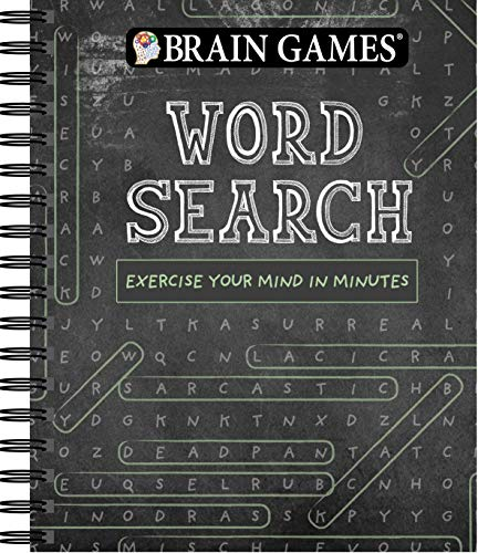 Compare Textbook Prices for Brain Games - Word Search: Exercise Your Mind in Minutes  ISBN 9781640306639 by Publications International Ltd.,Brain Games