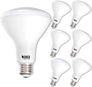 Sunco Lighting 6 Pack BR30 LED Bulb 11W=65W, 3000K Warm White, 850 LM, E26 Base, Dimmable, Indoor Flood Light for Cans - UL & Energy Star