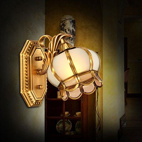 Meters volledig koperen spiegellamp woonkamer verlichting verwarming ingangsverlichting