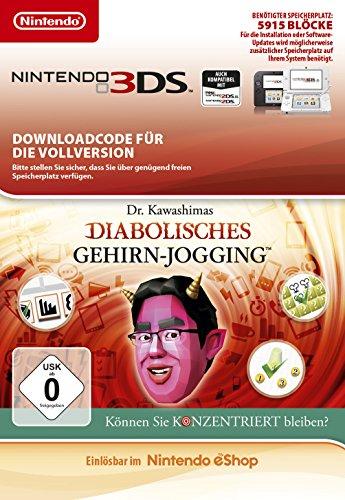 Dr. Kawashimas Diabolisches Gehirn-Jogging: Können Sie Konzentriert bleiben? [3DS Download Code]