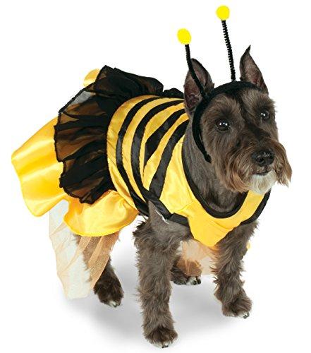 Rubie's 887809LXL-L Pet Costume, Bumblebee Dress, Large