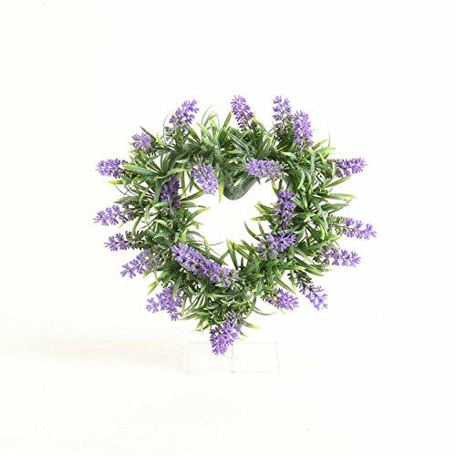 Kunstblumen, Kunstpflanze, Lavendelherz, Violett, B: 29 cm | knuellermarkt.de | Lavendel künstlich, Fensterdeko, Tischdeko, Dekoration, Hochzeitsdeko, Garten Deko, Balkon, Terrasse