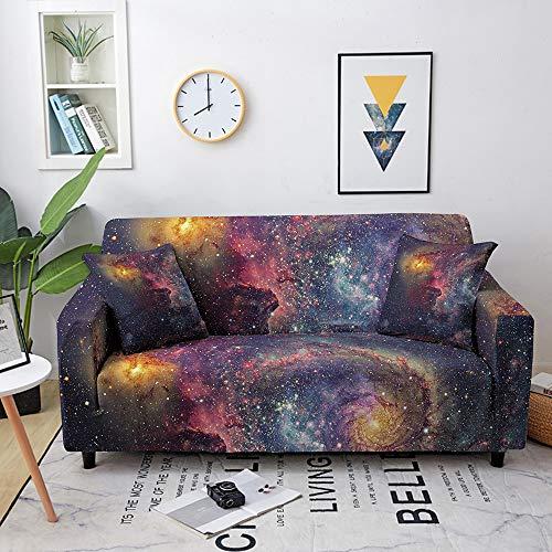 Funda de sofá, funda geométrica con patrón de mármol seccional elástica para sofá de sala de estar, funda de sillón en forma de L