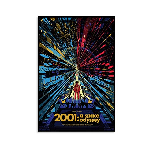 Movie 2001 A Space Odyssey Poster Decorative Painting Canvas Wall Art Living Room Posters Bedroom Painting 12x18inch(30x45cm)