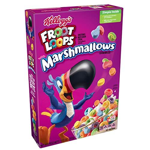 Kelloggs Froot Loops Cereales con Nubes, Sabor a Fruta - 357 gr