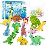 GizmoVine Juguetes Piscina,12 Piezas Juegos Agua Dinosaurios Juguetes, Educativo Animales Juguetes...