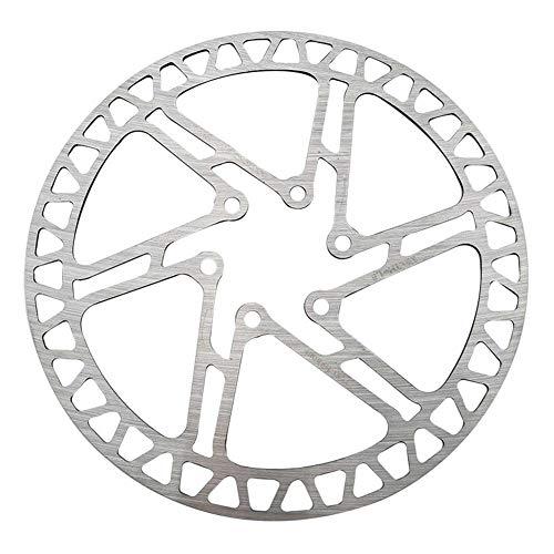 160 mm para Bicicleta del Freno de Disco del Rotor con 6 Tornillos Pernos de Acero Inoxidable de Bicicletas rotores para Bicicleta de Carretera, Bicicleta de montaña, BTT, BMX Accesorios de