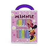 Disney Minnie Mouse - My First Library Board Book Block 12-Book Set - Great for Teaching First Words - PI Kids