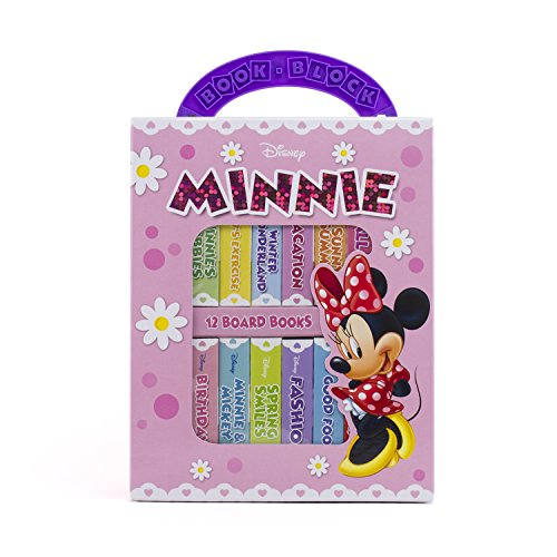 Disney Minnie Mouse - My First Library Board Book Block 12-Book Set - PI Kids