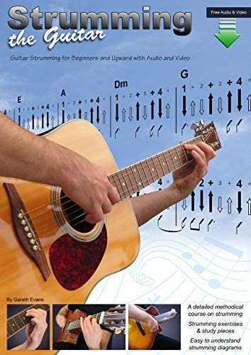 Strumming the Guitar Guitar Strumming for Beginners and Upward with Audio and Video product image