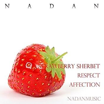 Strawberry Sherbet