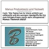 Rosenstein & Söhne Slow Cooker: Elektrischer Tajine-Tontopf mit Deckel, Ø 30 cm, 2 Liter, 300 Watt (Schmortopf elektrisch) - 9