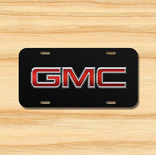 Gmc License Plate Vehicle Auto Vehicle Tag Diesel Canyon Sierra Yukon New Novelty Accessories License Plate Art