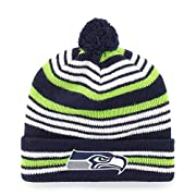 100% Soft Acrylic for a Comfy snug fit Unisex - Adult One size fits most (not recommend for head size over 7.5) Officially Licensed by the NFL Embroidered team logo on front cuff Features Solid Red-color Pom Pom on top of beanie