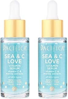 Pacifica Sea & C Love Vitamin Serum, 2Count