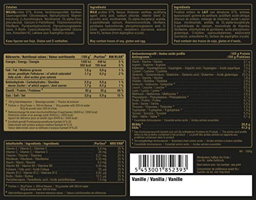 Peak Micellar Casein, Vanille, 1000 g, 26177 - 2