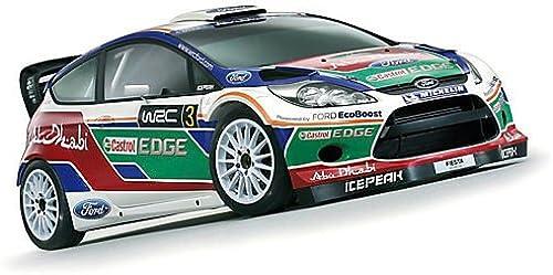 A la venta con descuento del 70%. SCX Slot Slot Slot Scalextric A10029X300 Ford Fiesta RS WRC Hirvonen No3  vendiendo bien en todo el mundo