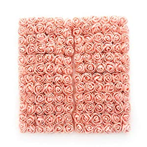Foam Roses 144pcs Artificial Multi Color Fake Flower DIY Wedding Home Party Decoration & Wedding Car Corsage Decoration