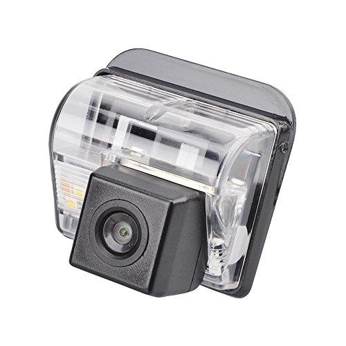 Navinio Farb Rückfahrkamera Einparkhilfe Kamera für Nummerschildbeleuchtung, Kennzeichenbeleuchtung für Mazda CX-5 CX-7 CX-9 3 6