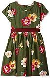 Amazon Brand - Jam & Honey Cotton Girls' Dresses & Jumpsuits Dress (JHAW20GDRS984-7_Multicolor 4_9-10 Years)