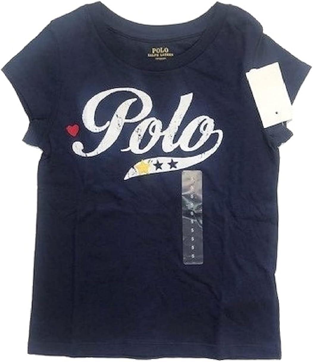 Polo Ralph Lauren Navy Boys Short Sleeve Tee, US 5