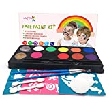 Best None Airbrush Makeup Kits - Maydear Face Paint Kit for Kids with Safe Review