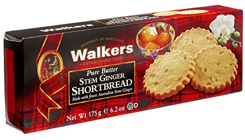 Walkers Stem Ginger Para Galletas
