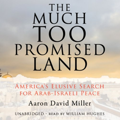 The Much Too Promised Land audiobook cover art