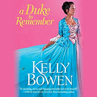 A Duke to Remember audiobook cover art