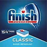 Finish Classic Spülmaschinentabs, Sparpack, 1er Pack (1 x 154 Tabs)