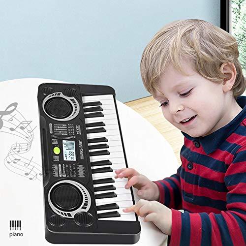 libelyef 37 Key Kids Music Piano Keyboard,Elektronische Kid Piano Keyboard Tragbare Multifunktionale...