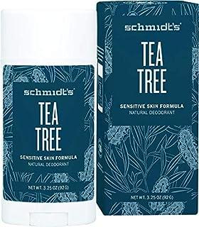 Schmidt's Tea Tree Sensitive Skin Deodorant Stick, 92 Grams