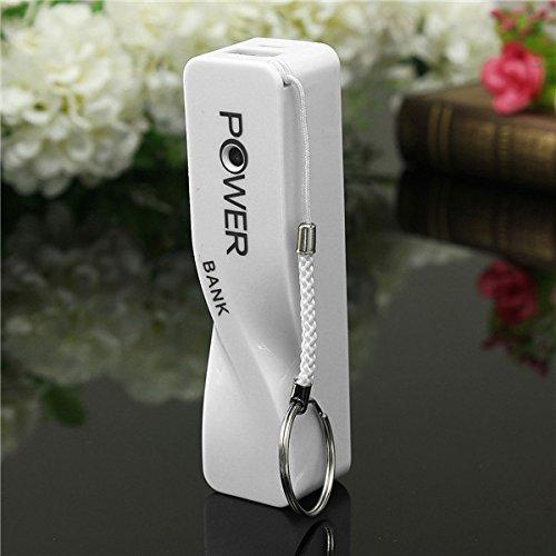 EsportsMJJ DIY 18650 Akku 2600mAh Power Bank Ladegerät Box Für iPhone-Weiß