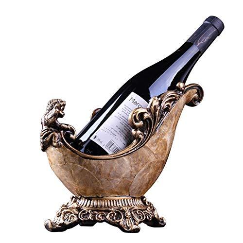 MQH Estantería de Vino Titular de Vino Retro de UVA para la Sala de Estar Inicio Restaurante Cabinete de Vino de pie Libre Pantalla de Almacenamiento Estantería de Botellas