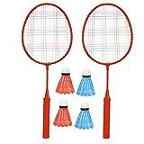 Roberee Bádminton para niños-1 par de Raquetas de bádminton para niños...