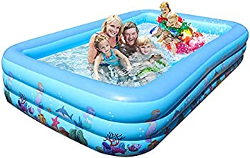 Haptime Inflatable Large Family Swimming Pool