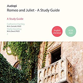 Romeo and Juliet - An Audio Study Guide     An Audio Study Guide Created for Students of Shakespeare              By:                                                                                                                                 Catherine Hartley,                                                                                        Stella Vassiliou                               Narrated by:                                                                                                                                 Alexander Piggins,                                                                                        Zoe Lambrakis                      Length: 3 hrs and 25 mins     4 ratings     Overall 3.5
