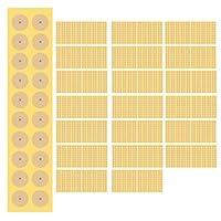 《大容量》耳つぼシール 4000粒(200シート) 業務用 サロン専用 「正規品」大容量 耳ツボシール 国内メーカー直入品 チタン (肌色チタン粒)