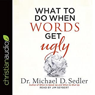 What to Do When Words Get Ugly audiobook cover art