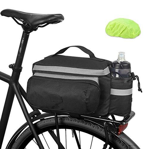 HOMPER Fahrradtasche Satteltasche Gepäcktasche Gepäckträger Tasche Rucksack Seitentasche 13L Mountain Road MTB Fahrrad Radfahren Rücksitztasche