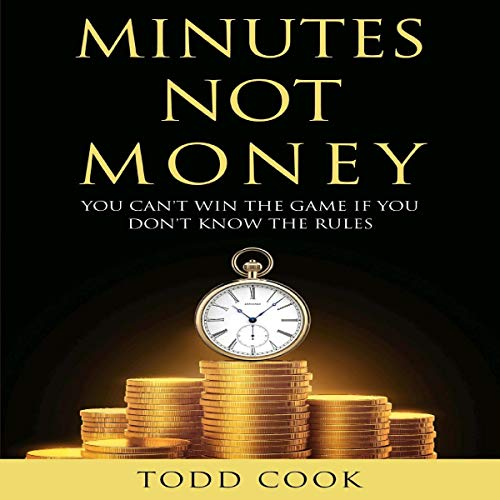 Minutes Not Money audiobook cover art